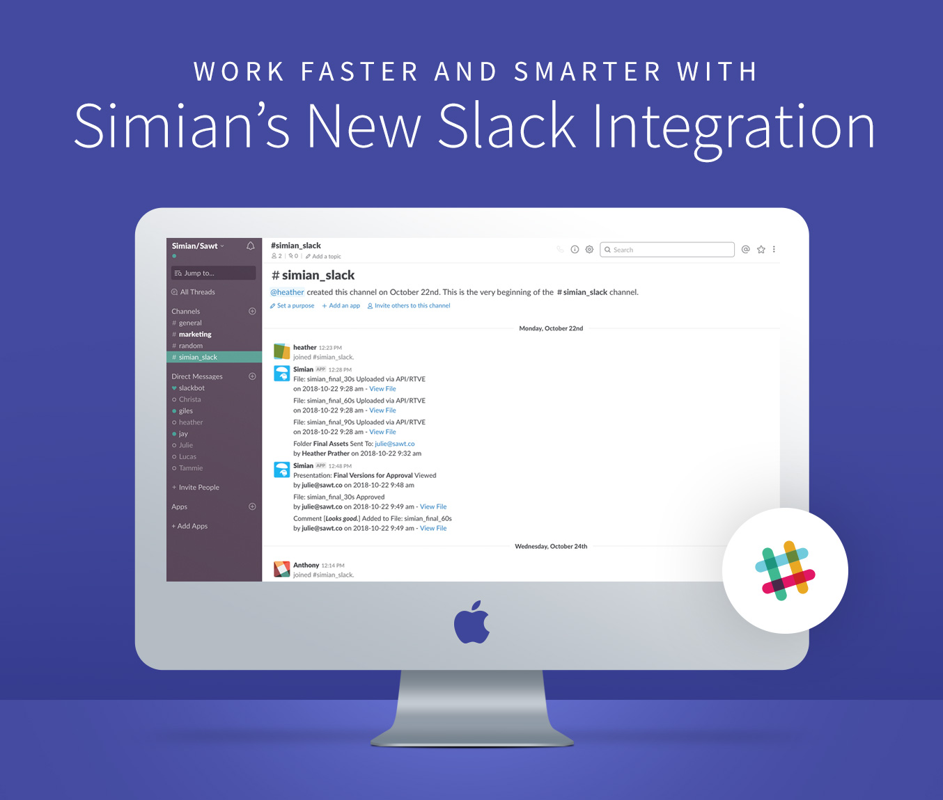 Get Project Notifications in Slack