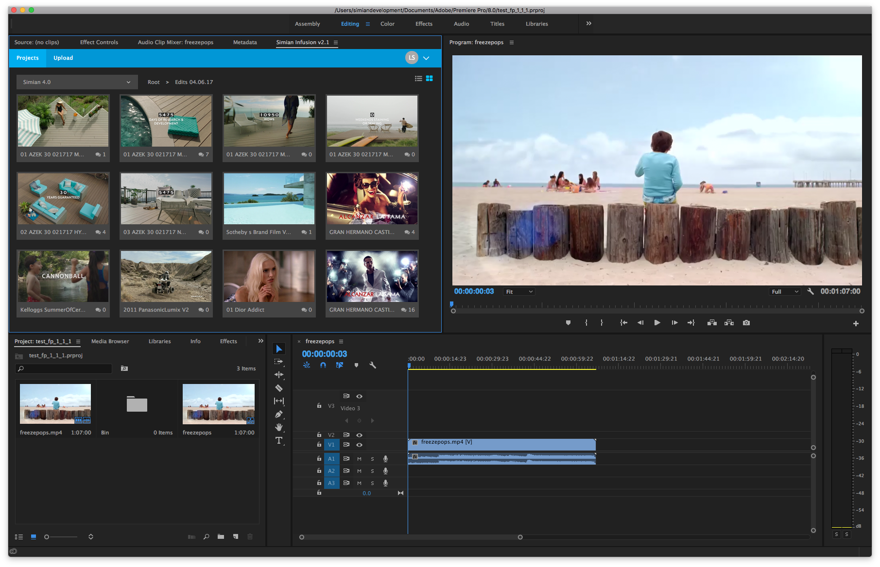 Infusion for Adobe Premiere Pro