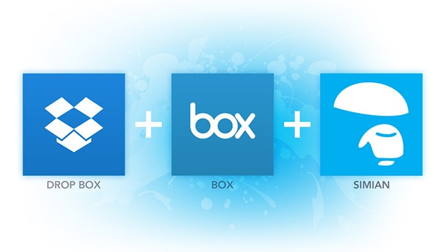 Simian Dropbox & Box